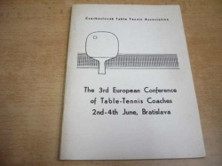 The 3rd European Conference of Table-Tennis Coaches 2nd-4th June, Bratislava (1978)