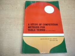 Cheng Jiayan - A Study of Competition Methods for Table Tennis (1988) anglicky