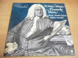 2 LP-SET: G.F.HANDEL - Water Music, Fireworks Music