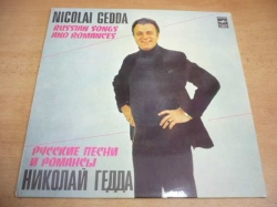 LP NICOLAI GEDDA - Russian Songs and Romances