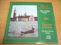 LP GIUSEPPE DI STEFANO - The Best Italian Songs