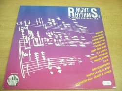 LP NIGHT RHYTHMS il ritmo della notte - 2 Unlimited, Pavesi Sound, Mu-Sika...)