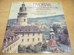 LP DVOŘÁK - Concerto for Cello and Orchestra / NOVÉ