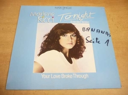 Maxi-Single Marlene Ricci ‎– Tonight (Extended Version) / Your Love Broke Through