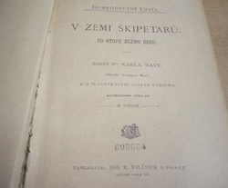 Karel May - V zemi Škipetarů (1906)