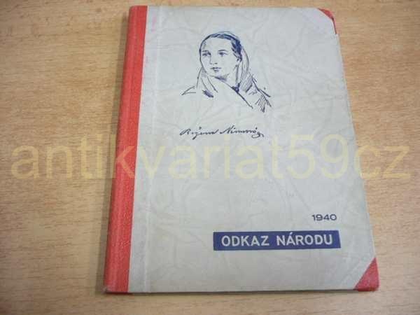Bozena Nemcova Chyse Pod Horami Diva Bara 1940 Ed Odkaz Narodu